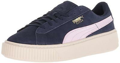 f677182420 KIDS PUMA GIRLS Suede Platform SNK PS Low Top, Blue, Size 10.5 M US Little  Kid