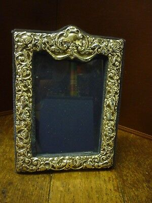 English Hallmarked Sterling Silver London 1985 Photo Frame