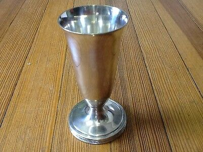 "INTERNATIONAL SILVER CO. (IS) ""Palmer House"" Bud Vase (Chicago) SILVER Soldered"