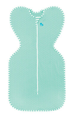 Love to Dream Swaddle Up Lite - LARGE - MINT - ZIP UP BABY SWADDLE 0.2TOG