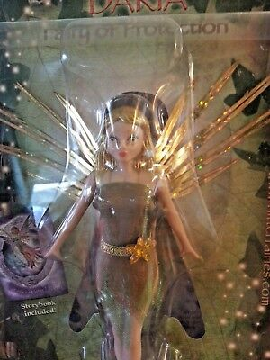 """New, Flitter Fairies """"daria"""" Fairy Of Protection Forest Fairy  Perfect Xmas Gift"""