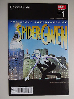 Spider-Gwen #1 Hip Hop Variant Humberto Ramos Nmt 1St Print Marvel 2015