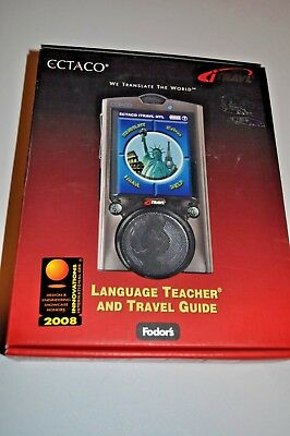 Ectaco iTravl TL-6 Language Teacher - Travel Guide - Phrase book - dictionary