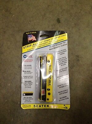 """Southwire Tools SA-200S Seatek Small, up to 5/8"""" DIM Strip-All"""