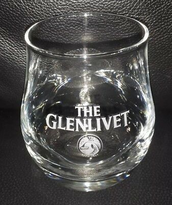 Rare Collectable The Glenlivet Scotch Whisky Glass In Great Used Condition