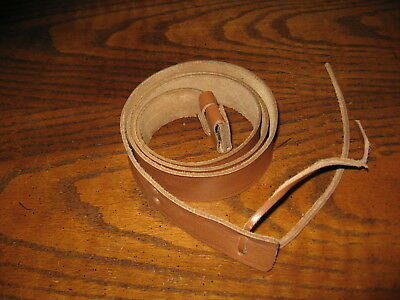 Leather reproduction british enfield rifle sling no 1 mk III WWI