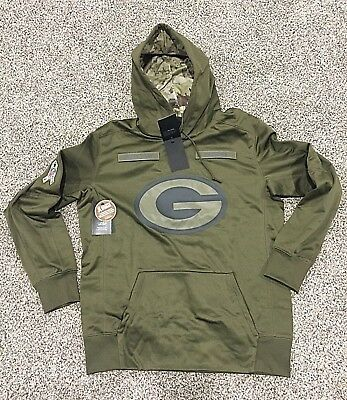 2018 Green Bay Packers Nike Salute to Service Hoodie All Sizes NWT STS IN  HAND 887fc47d4