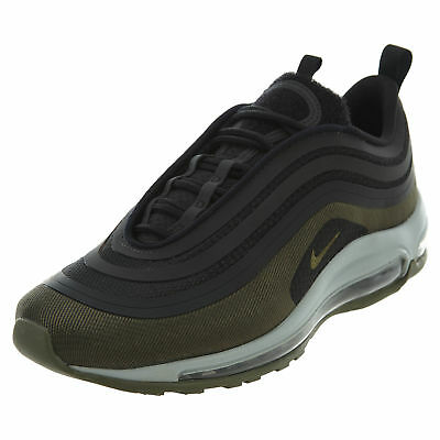 6938fb0770d9e NIKE AIR MAX 97 AH9945 001 PATCH BLACK DARK HAZEL MEDIUM OLIVE Size ...