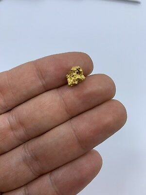 Australia Natural Gold Nugget / Nuggets Weight 1.87 Grams