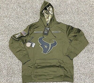 376c6bde2 2018 HOUSTON TEXANS Nike Salute to Service Hoodie NWT - IN HAND - STS Watt