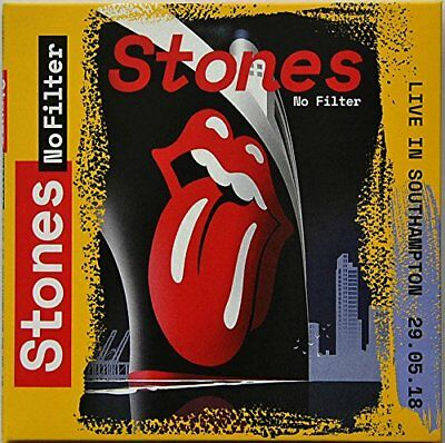 THE ROLLING STONES LIVE IN SOUTHAMPTON 2018 No Filter Tour 2CD set in digisleeve