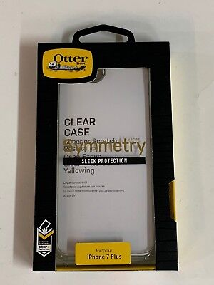 OtterBox Symmetry Series Case For Apple iPhone 7 Plus & iPhone 8 Plus Clear