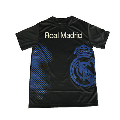new Real Madrid Jersey Training 2018 2019 Men s Soccer away Black Marcelo  KROOS 68dabd7a7