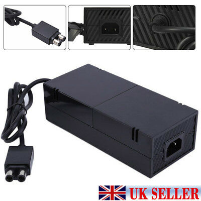 Mains Power Supply Adapter Charger Cable For Microsoft Xbox One New UK
