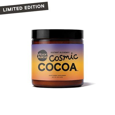 Brand New Limited Edition Moon Juice Cosmic Cocoa Adaptogenic Hot Chocolate 5oz