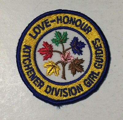 Girl Guides of Canada Kitchener Division Crest