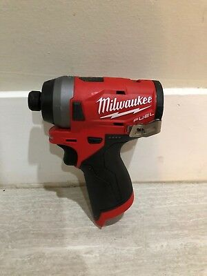 Milwaukee 2553-20 M12 FUEL Li-Ion 1/4 in. Hex Impact Driver (BT)