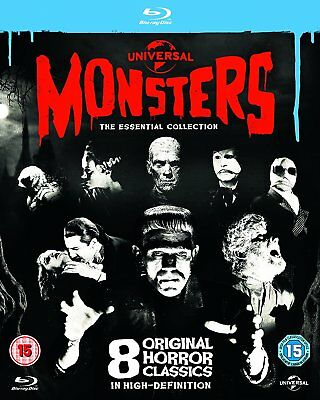 Universal Classic Monsters - The Essential Collection (Blu-ray) 8 Film Set