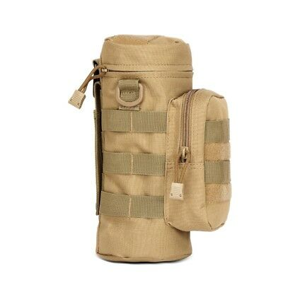 Tactical Military Molle Water Bottle Pouch Kettle Bag Holder Carrier Outdoor