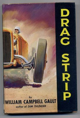 Drag Strip by William Campbell Gault Hardback in dust Jacket