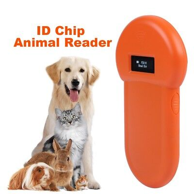 RFID 134.2Khz Pet Dog Animal Microchip ID Reader Handheld ISO FDX-B Tag Scanner