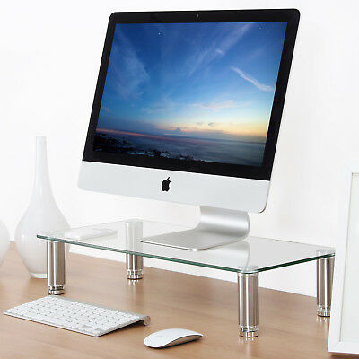 FITUEYES Monitor Stands Screen Riser Shelf for Computers, Laptops & LCD LED TVs