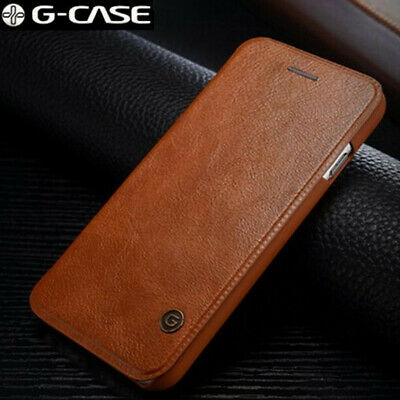 G-Case Flip Leather Wallet Card Holder Slim Case Cover For iPhone XS Max XR 8 7