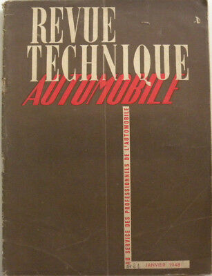 revue technique automobile moteur DOG 4 cyl diesel n° 21