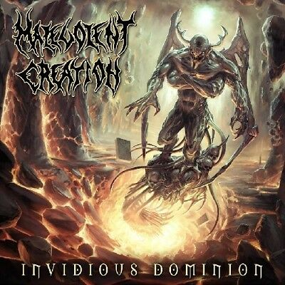 Invidious Dominion - Malevolent Creation (2010, CD NUOVO) 4028466106858