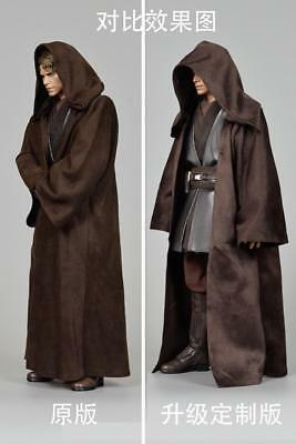 "1/6 Cloak Coat Upgrade Custom Version Clothes Fit 12""HT Anakin Action Figure"