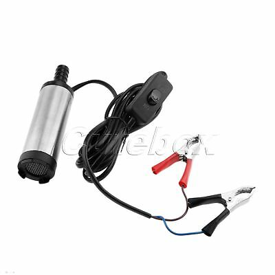 1Pc 12V DC Diesel Fuel Water Oil Car Pumping Camping Submersible Transfer Pump