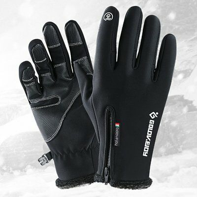 Outdoor Waterproof Cycling Ski Gloves Winter Touch Screen Warm Riding Gloves 9#