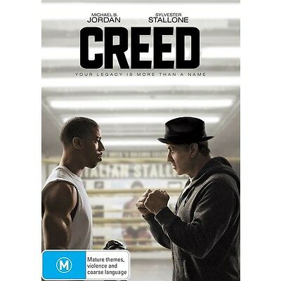 CREED-Sylvester Stallone, Michael B. Jordan-Region 4-New AND Sealed