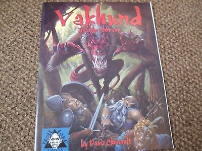 Vakhund: Into the Unknown (Troll Lord Games D20) Paperback