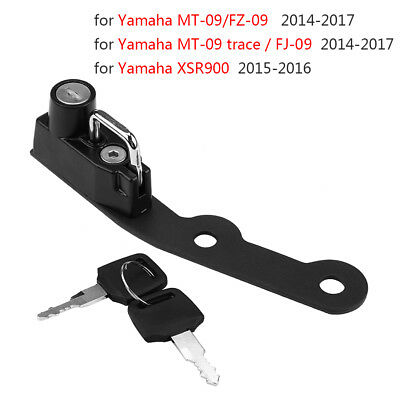 Helmet Lock For Yamaha MT-09 MT09 FZ-09 FZ09 FJ-09 2014-2017 XSR900 2015-2016