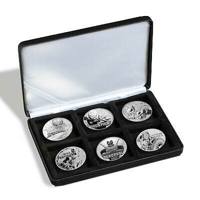 6x 1 oz Marvel™ Superheroes Silver Coins Set 2017-2019 - Six Coins in Case