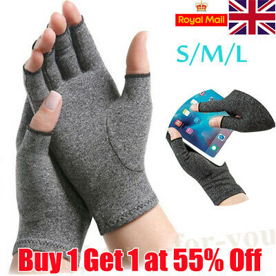 Anti Finger Hand Arthritis Brace Support Gloves Pain Relief Compression Cure LIH