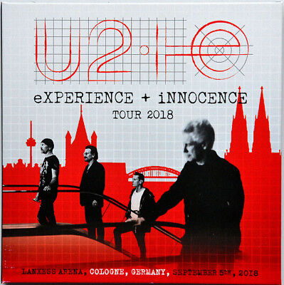 U2 LIVE IN COLOGNE 2018 eXPERIENCE + iNNOCENCE TOUR 2CD set in digisleeve sealed