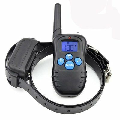 Waterproof Rechargeable LCD Electric & Remote Dog Training Shock Collar