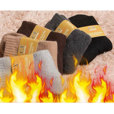 Thick Wool Mens Cotton Rich Cushion Sole Sport Workout Socks Shoe Size US 7-9