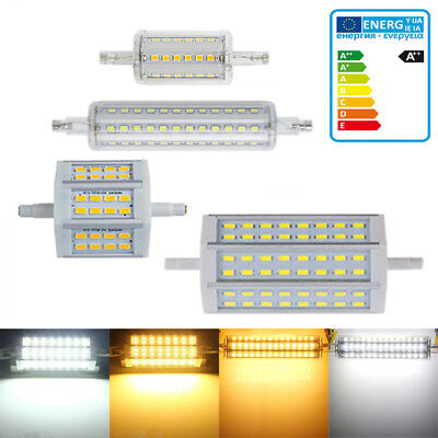 Dimmable LED R7S Ampoule Lampe 10W 15W 78mm 118mm SMD Remplacement Halogènes