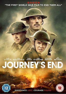 Journey's End [DVD] (2018) New & Sealed Region 2 UK Fast Shipping