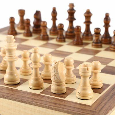 International Chess Set Teaching Competition Chessman Solid Wood Chess Board .XB