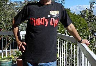 VINTAGE Sony Pictures Seinfeld Giddy Up! 1989 Retro T-Shirt