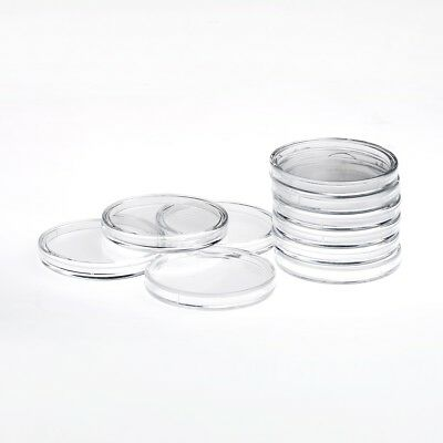Quality budget rimless round Capsules for many medium coins 32mm multibuy pack