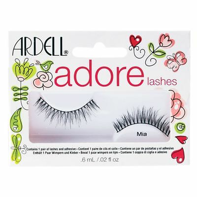 90fe38a5070 ARDELL Adore 'MIA' Lashes - Black False Lashes - Eyelashes & Adhesive  Included