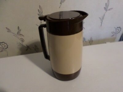 1 - Cambro 640TS Brown Pitcher Carafe Diner Beverage Coffee