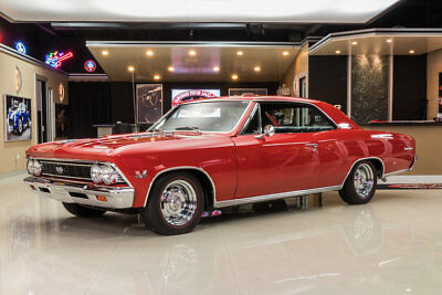 1966 Chevrolet Chevelle SS Frame Off Restored, True SS! GM 396ci V8, Muncie 4-Speed, 12 Bolt Posi, PB, Disc
