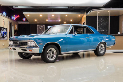 1966 Chevrolet Chevelle SS Frame Off Restored, 138 SS! GM 396ci V8, Muncie 4-Speed, Posi, Disc, PS, PB