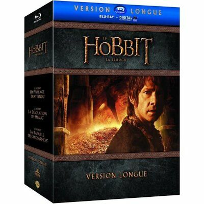 Blu-ray - Le Hobbit - La trilogie [Version longue - Blu-ray + Copie digitale]